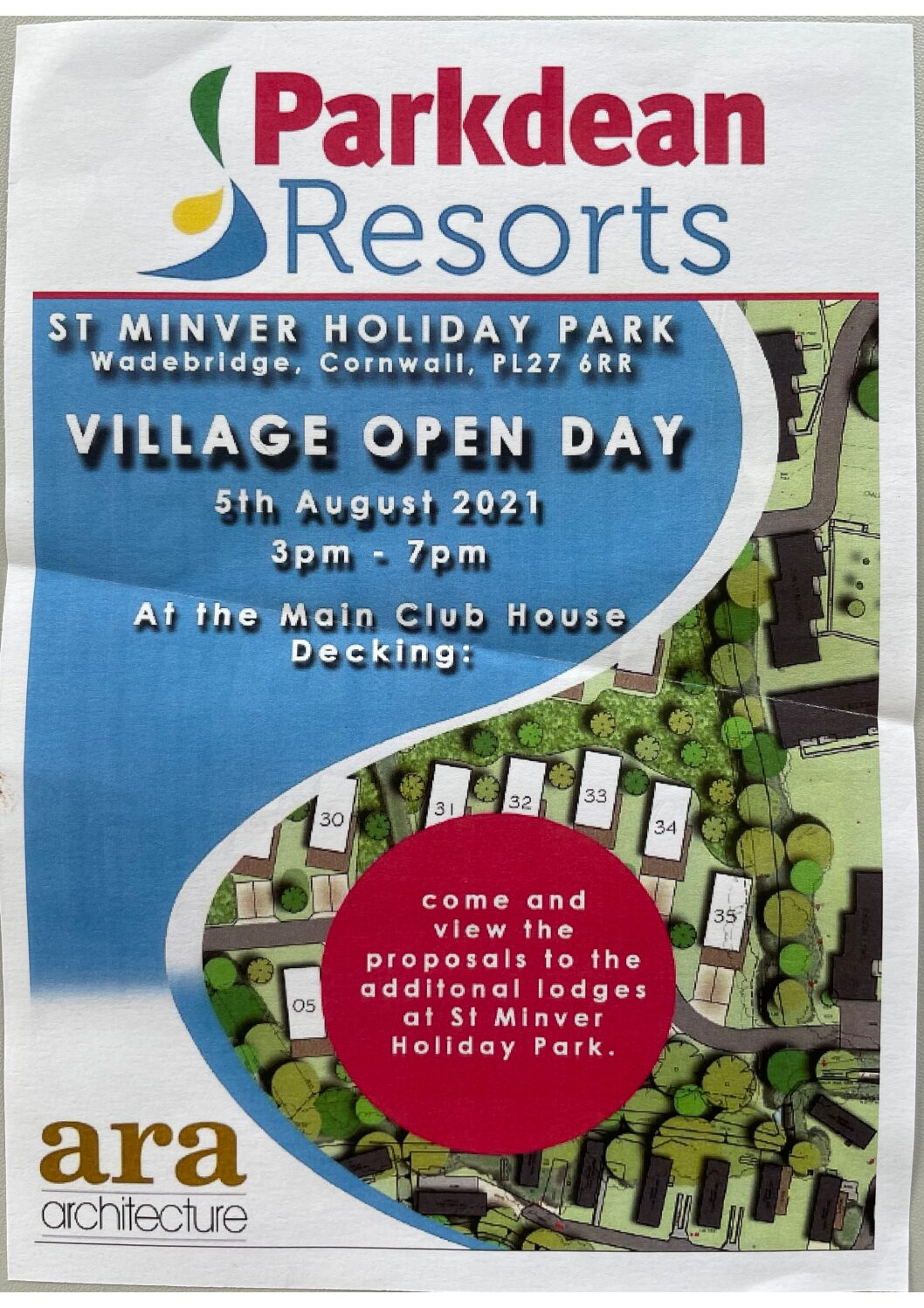 Public Meeting – Parkdean Resorts Village Open Day